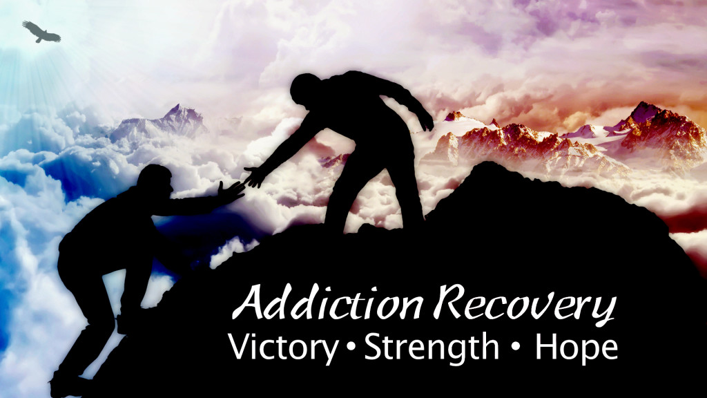 Addiction Recovery Graphic