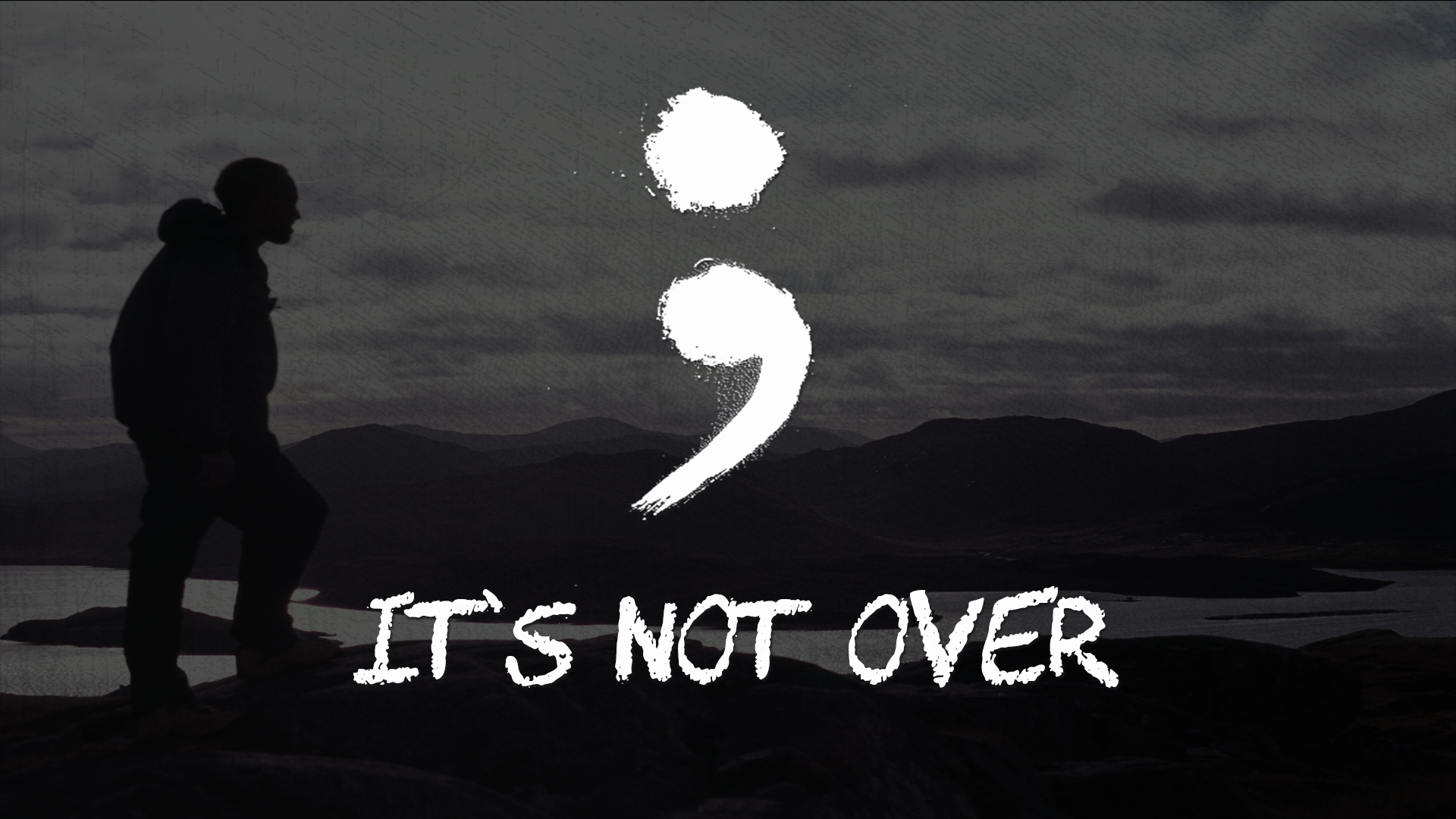 ; It's Not Over – Graphic – LG